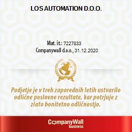 Bonitetna ocena Los Automation